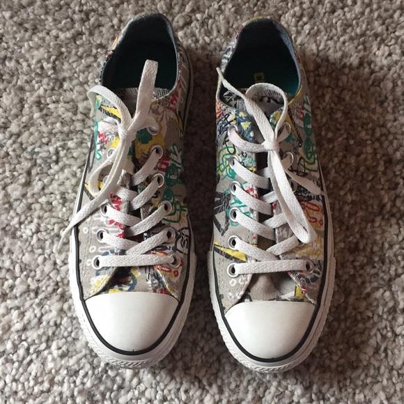 7c079b46df8e Converse Shoes - Converse Chuck Taylor All Star graffiti sz 7